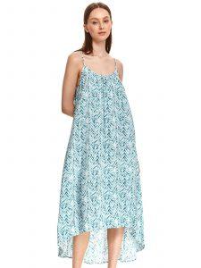 שמלה ארוכה טופ סיקרט לנשים TOP SECRET Flow - כחול