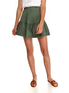 חצאית מיני טופ סיקרט לנשים TOP SECRET GRN - ירוק
