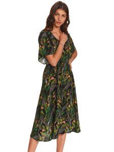 שמלה ארוכה טופ סיקרט לנשים TOP SECRET Garden - ירוק