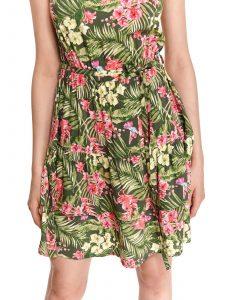 שמלה קצרה טופ סיקרט לנשים TOP SECRET Grace - צבעוני בהיר