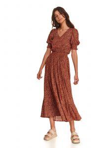 שמלה ארוכה טופ סיקרט לנשים TOP SECRET Helena - אדום