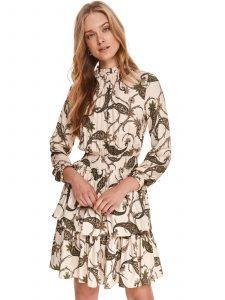 שמלה קצרה טופ סיקרט לנשים TOP SECRET Joy - צבעוני בהיר