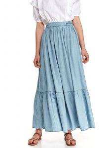 חצאית ארוכה טופ סיקרט לנשים TOP SECRET Julia - כחול