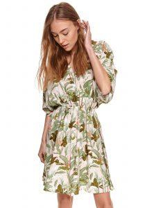 שמלה קצרה טופ סיקרט לנשים TOP SECRET Karen - ירוק