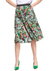 חצאית ארוכה טופ סיקרט לנשים TOP SECRET Kenya - צבעוני
