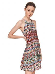 שמלה קצרה טופ סיקרט לנשים TOP SECRET Khloe - צבעוני