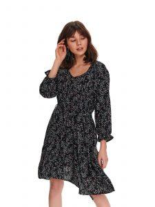 שמלה קצרה טופ סיקרט לנשים TOP SECRET Maya - שחור