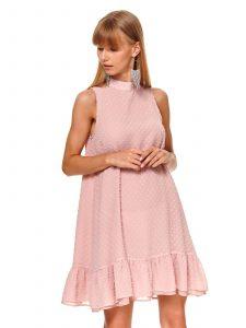 שמלה קצרה טופ סיקרט לנשים TOP SECRET Pinki - ורוד