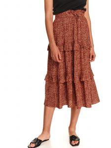 חצאית ארוכה טופ סיקרט לנשים TOP SECRET Rachel - אדום
