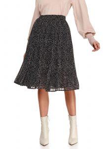 חצאית ארוכה טופ סיקרט לנשים TOP SECRET Rebecca - שחור