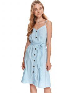 שמלה ארוכה טופ סיקרט לנשים TOP SECRET SKY - תכלת