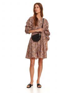 שמלה קצרה טופ סיקרט לנשים TOP SECRET Sandy - בז'