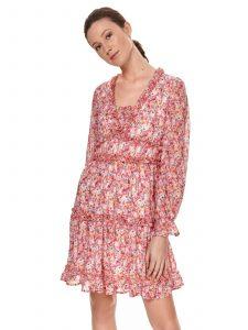 שמלה קצרה טופ סיקרט לנשים TOP SECRET Sofia - אדום