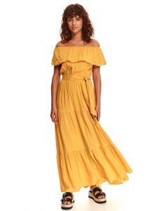 שמלה ארוכה טופ סיקרט לנשים TOP SECRET Sun - צהוב