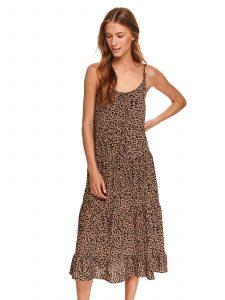 שמלה ארוכה טופ סיקרט לנשים TOP SECRET Tiger - מנומר