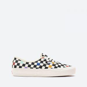 נעלי סניקרס ואנס לנשים Vans Authentic 44 Needle Point - שחור/לבן
