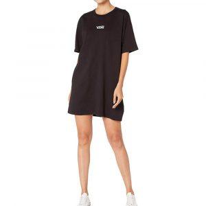 שמלה קצרה ואנס לנשים Vans Center Vee - שחור