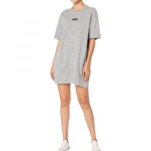 שמלה קצרה ואנס לנשים Vans Center Vee - אפור