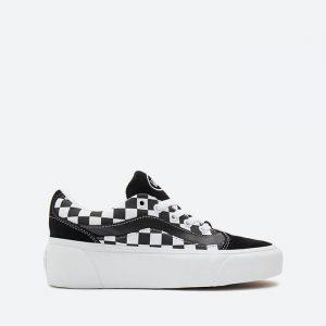 נעלי סניקרס ואנס לנשים Vans Shape Ni - שחור/לבן