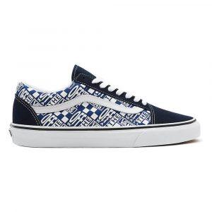 נעלי סניקרס ואנס לנשים Vans UA Old Skool - כחול