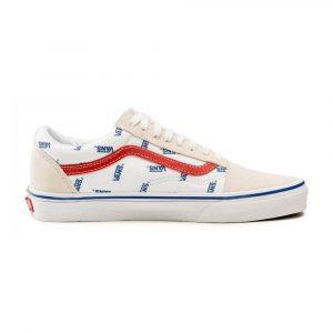 נעלי סניקרס ואנס לנשים Vans UA Old Skool - לבן