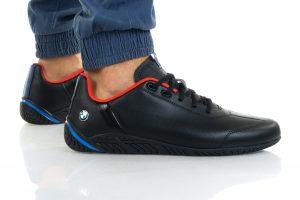 נעלי סניקרס פומה לגברים PUMA BMW MMS RDG CAT - שחור/אדום