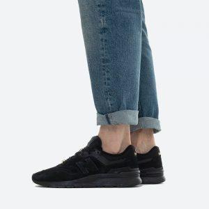 נעלי סניקרס ניו באלאנס לגברים New Balance CM997 - שחור פחם