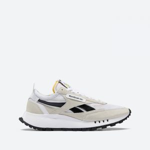 נעלי סניקרס ריבוק לגברים Reebok Classic Legacy - לבן/שחור