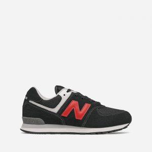 נעלי סניקרס ניו באלאנס לנשים New Balance GC574 - שחור/אדום