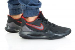 נעלי סניקרס נייק לגברים Nike PRECISION V - שחור/אדום