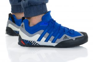 נעלי טיולים אדידס לגברים Adidas TERREX SWIFT SOLO - אפור/כחול