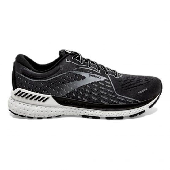 נעלי ריצה ברוקס לגברים Brooks Adrenaline GTS 21 - אפור/לבן