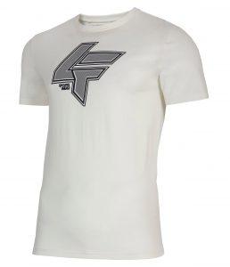 חולצת T פור אף לגברים 4F H4L21 TSM010 - לבן
