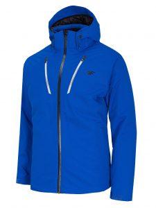 ג'קט ומעיל פור אף לגברים 4F H4Z20 KUMN005 - כחול