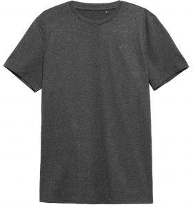 חולצת T פור אף לגברים 4F NOSH4 TSM352 - אפור כהה