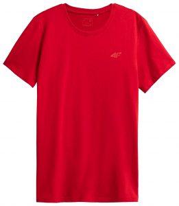 חולצת T פור אף לגברים 4F NOSH4 TSM352 - אדום