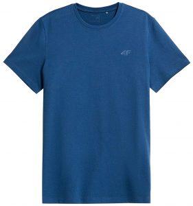 חולצת T פור אף לגברים 4F NOSH4 TSM352 - כחול