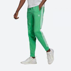 מכנס ספורט אדידס לגברים Adidas Originals 3-Stripes Pant trousers - ירוק