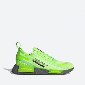נעלי סניקרס אדידס לגברים Adidas Originals NMD_R1 Spectoo - ירוק