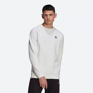 סווטשירט אדידס לגברים Adidas Originals Essential Crew - לבן