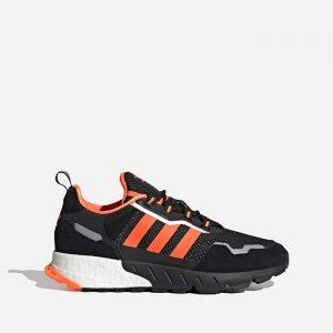 נעלי סניקרס אדידס לגברים Adidas Originals Zx 1K Boost - Seasonality - שחור/כתום
