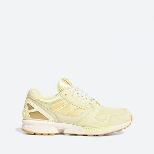 נעלי סניקרס אדידס לגברים Adidas Originals Zx 8000 - צהוב בהיר