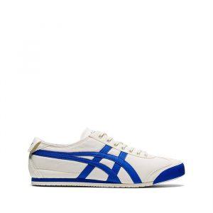 נעלי סניקרס אסיקס טייגר לגברים Asics Tiger Tiger Mexico 66 - לבן/כחול