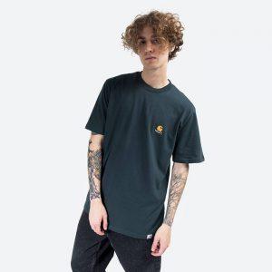 חולצת T קארהארט לגברים Carhartt WIP Trap C - ירוק