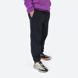 מכנסיים ארוכים קונברס לגברים Converse Embroidered Star Chevron - שחור