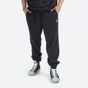 מכנס ספורט קונברס לגברים Converse Jogger Ft  Trousers - שחור