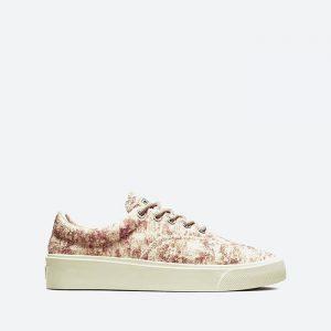 נעלי סניקרס קונברס לגברים Converse x John Elliott - צבעוני/לבן
