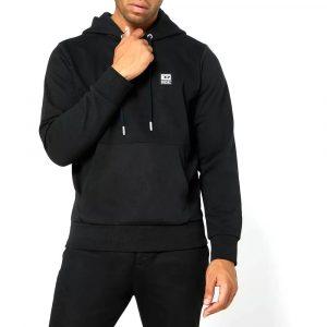 סווטשירט דיזל לגברים DIESEL D Logo - שחור