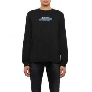 חולצת T דיזל לגברים DIESEL T-Just X41 - שחור