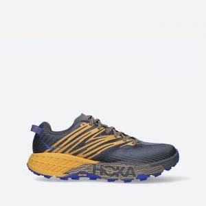 נעלי ריצה הוקה לגברים Hoka One One Speedgoat 4 - צבעוני כהה